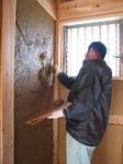 貫ぶせ土塗り込み